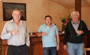 Réussir dans le secteur viticole: un travail d'équipe !