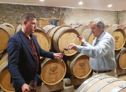 La passion de la vigne et de l'histoire